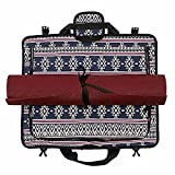 Techecho Yoga Wrap Bag & Gym Duffel Bag Collection (MAT is NOT Included)...