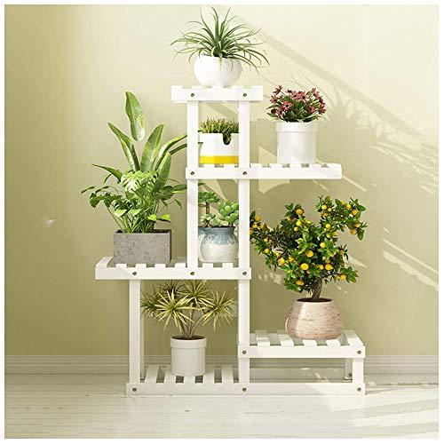 JINFAN Pflanze Blume Stehen Blumentopf Regal Massivholz Multilayer Im Handy Handy Radregale Display Stand Rack,B