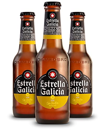Cerveza Estrella Galicia Sin Gluten Pack 24x25cl