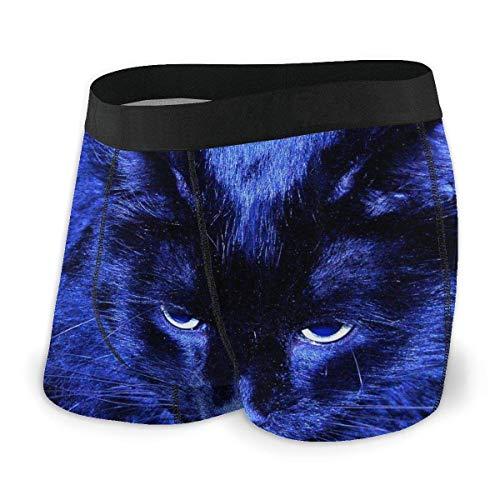 Blue Cat - Boxer da uomo, taglia S-XXL Come da immagine M