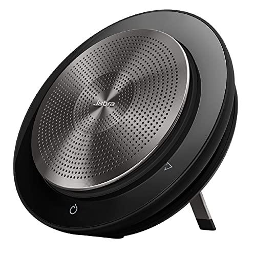 Jabra Speak 750 Corded Speakerphone for Softphones – Easy Setup, Portable USB Speaker for Holding Meetings Anywhere with Outstanding Sound Quality (Renewed)