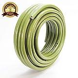 Worth Garden Tubo Flessibile da Giardino a 3 Strati, 15 m, 13 mm (1/2 Pollice) Tubo Flessibile Universale in Robusto Tessuto a Croce