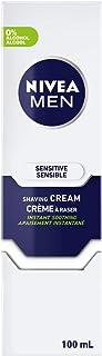 NIVEA Men Sensitive Skin Shaving Cream (100mL)