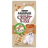 モンプチ 猫用おやつ クリスピーキッス グレインフリー 厳選チキン 猫用 24gx5 (まとめ買い)