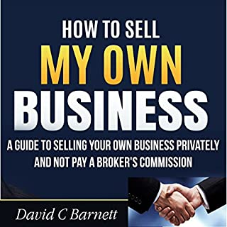 How to Sell My Own Business audiobook cover art