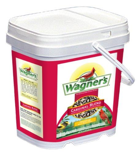 Wagner's 42032 Cardinal Blend Wild Bird Food, 5-1/2-Pound Bucket