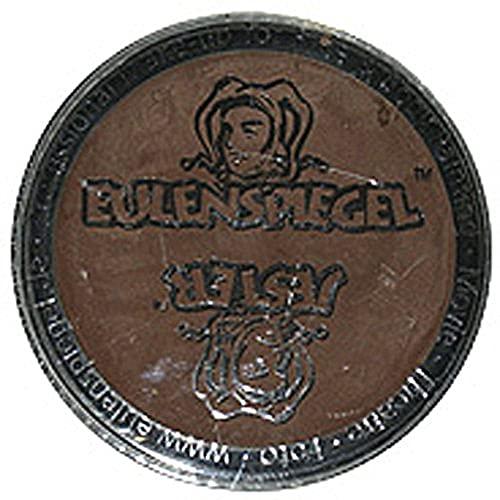 Eulenspiegel 189887 - Profi-Aqua Schminke, Braun, 20 ml, vegan