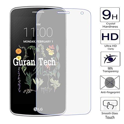 Guran® Protector de Pantalla Vidrio Cristal Templado Para LG K5 Smartphone Film
