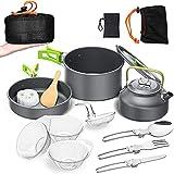 Wuwer Juego de utensilios de cocina para camping, portátil,...