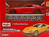 FERRARI F12 BERLINETTA RED KIT 1:24 - Maisto - Kit Auto - Kit di Montaggio