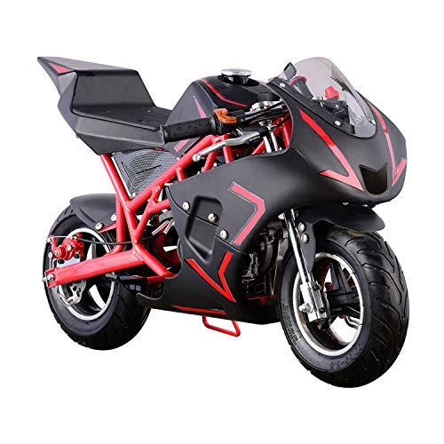 USA Big Toys Cali 40cc Gas Pocket Bike in Red