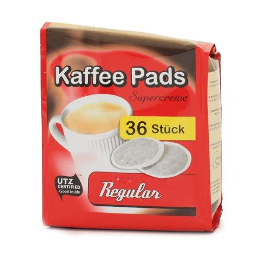 Cafeclub Supercreme Kaffeepads Normale Röstung 36 st