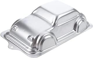 WJSYSHOP 10 Inch Car Shaped Aluminum 3D Cake Mold Baking Mould Tin Cake Pan