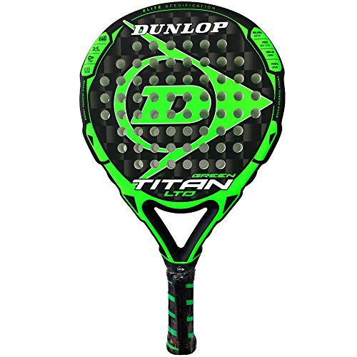 Dunlop Pala de Padel Titan LTD Green
