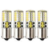 P21W Ba15s 1156 Bombilla LED, HRYSPN 12V 5W blanco frío 6000K 500LM, para...