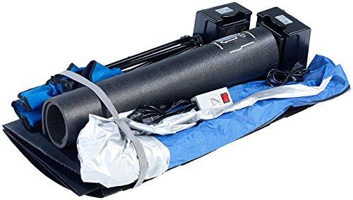 newgen medicals Mini Infrarotkabine: Tragbare Infrarot-Sauna V2 mit 2 Heizern, 1600 Watt (Mini Sauna für Balkon) - 9