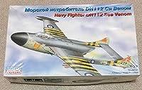 未組立品 EASTERN EXPRESS イースタンエクスプレス 1/72 デハビラント シーベノム 戦載ジェット戦闘機 プラモデル
