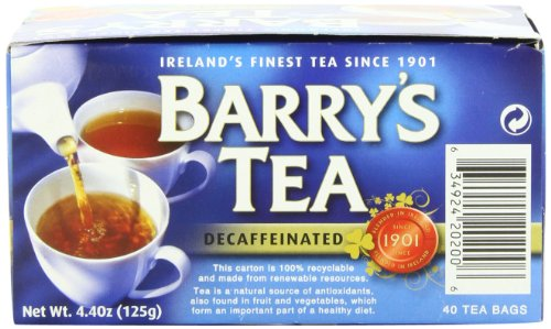 Barry's Tea, Decaffeinated, 40 Teabags (Pack of 6)