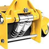 Performance Tool W1627 3.5 Ton (7,000 lbs.) Capacity Low Profile Service Jack