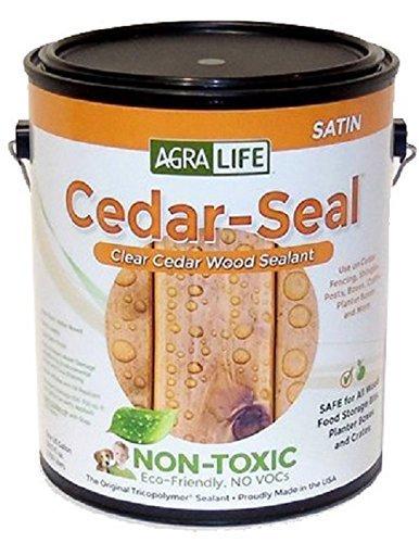 TriCoPolymer VOC Free Non Toxic, Clear Satin Cedar