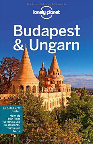 Lonely Planet Reiseführer Budapest & Ungarn