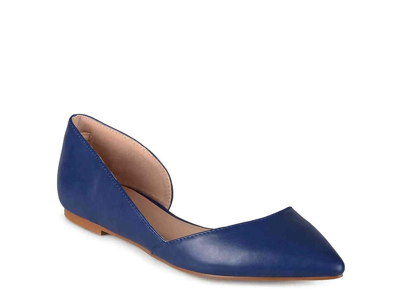 アンデス山脈軽頭[Journee Collection] Womens Cortni Pointed Toe Ballet Flats [並行輸入品]
