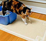 CleanHouse Pets Cat Litter Mat, XL Size, Non-Slip, Easy to Clean, Stops All Litter...