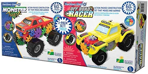 Techno Gears The Learning Journey Monster Rac gift Truck Off Superlatite and Road