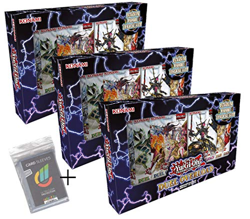 Unbekannt Yugioh - Duel Overlord - 3 Boxen - Deutsch + 100 Collect-it.de Hüllen