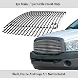 APS Compatible with 2006-2008 Ram 1500 2500 3500 Billet Grille Grill Insert N19-A81358D