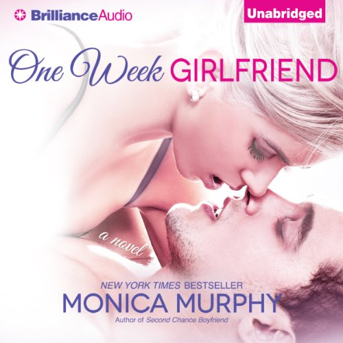 One Week Girlfriend audiobook cover art