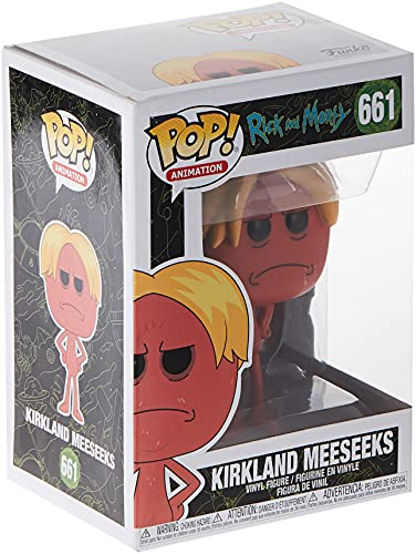 Pop Animation: Rick & Moty - Kirkland Meeseeks