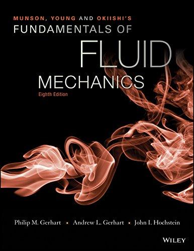 Munson, Young and OkiishiÂs Fundamentals of Fluid Mechanics