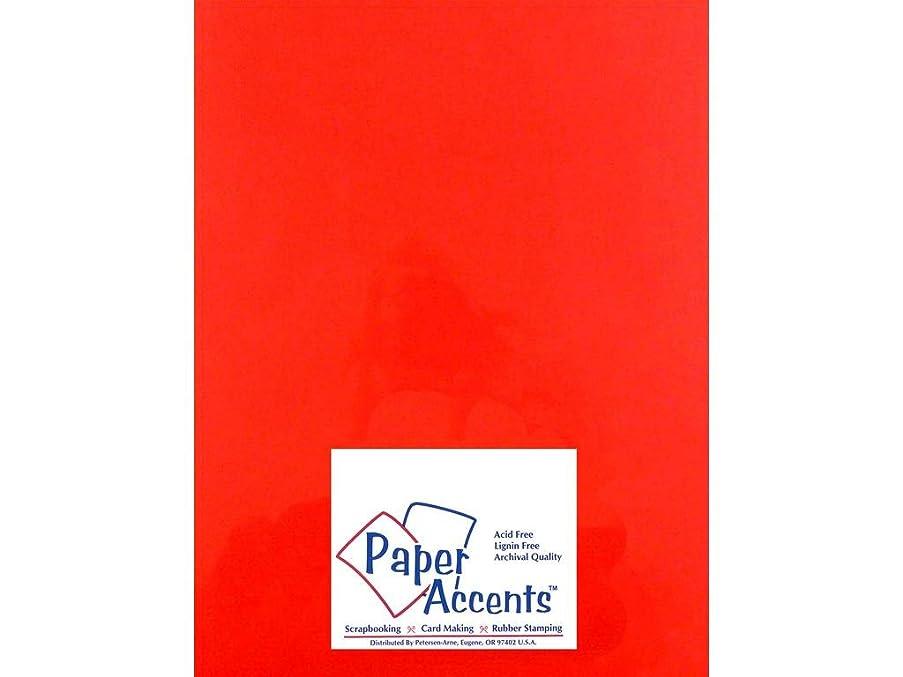 Accent Design Paper Accents Vellum 8.5x11 Garnet