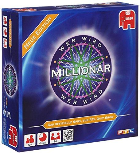 Jumbo Spiele 17879 Wer Wird Millionär Familienspiel, Gesellschaftsspiel, Ab 12 Jahren