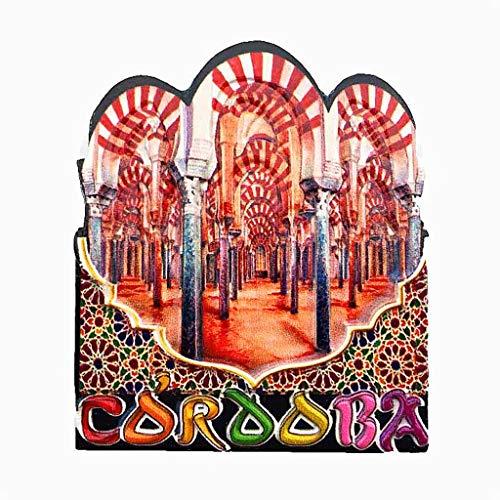 Córdoba España imán de nevera 3D artesanía recuerdo resina imanes refrigerador colección regalo de viaje