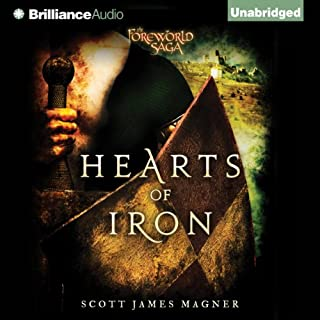 Hearts of Iron audiobook cover art