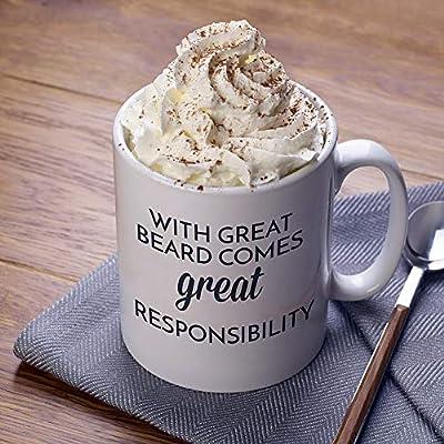 The Bearded Man Company with Beard Comes Great Responsibility Ceramic Mug1 Units