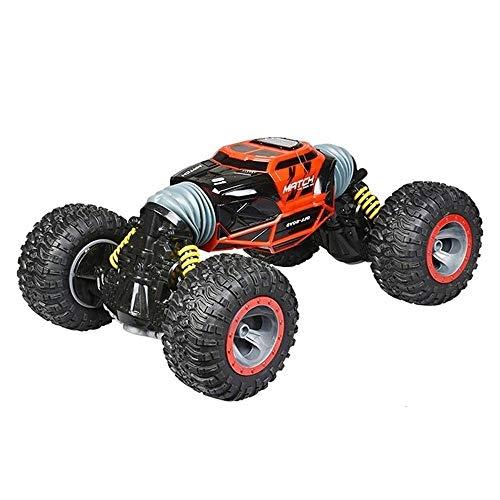 VanFty STEP STUNT RC Racing Cars Alta velocidad Buggy Race Control Remoto Car 2.4 GHz STUNCE High Speed RC Carracing Cars, Motores al aire libre en interiores Vehículos de vehículos CRIGHGY HABUS TO