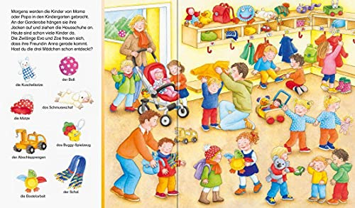Sachen suchen - Im Kindergarten