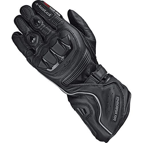 Held Motorradhandschuhe kurz Motorrad Handschuh Chikara RR Handschuh schwarz 12, Herren, Sportler, Ganzjährig, Leder