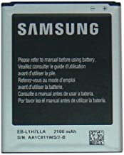 Samsung OEM Standard Battery EB-L1H7LLA EBL1H7LLA for SPH-L300 Virgin Mobile SCH-R830 US Cellular Sprint Original - Non Retail Packaging - Black