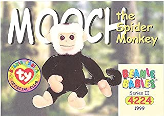 BBOC Cards TY Beanie Babies Series 2 Common - Mooch The Spider Monkey