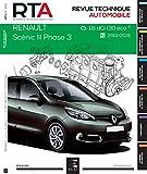 E.T.A.I - Revue Technique Automobile 818 SCENIC III PHASE 3 - 2013 - 2016