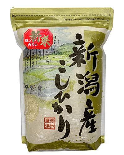 新潟県産 白米 コシヒカリ 2kg 令和2年産 【こしひかり お米】