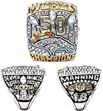 2015 Denver Championship Ring Replica, Super Bowl Championship Ring Set For Fans Collection Gift Display Keepsake - Coleccionable 10#, lsxysp, 13#