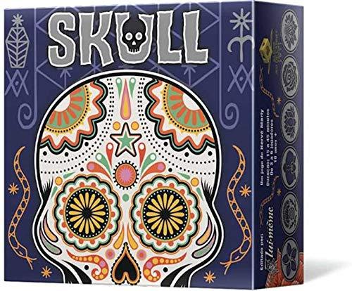 Asmodee - Skull, Gioco da Tavolo di Bluff e Strategia, Edizione in Italiano, 8557