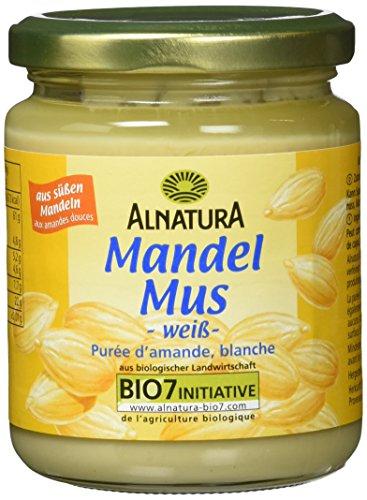 Alnatura Mandelmus weiß, 6er Pack (6 x 250 g)