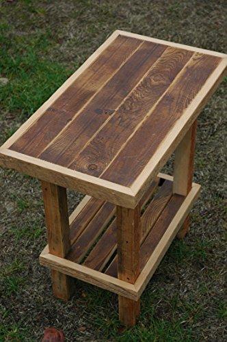 Reclaimed, Rustic, Custom Cedar / Fir Old Growth End Table ready for your home.