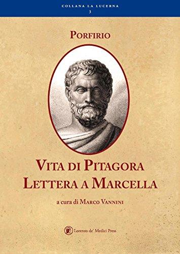 Vita di Pitagora. Lettera a Marcella